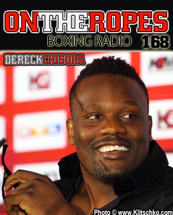Интервью с Чисорой на On the Ropes Boxing Radio