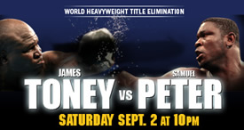 Peter vs Toney