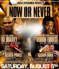 Forrest vs Quartey