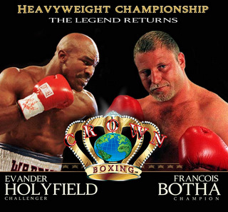 Holyfield vs Botha