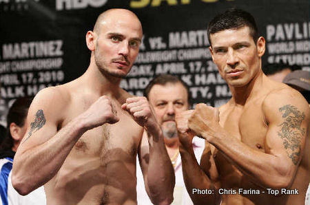 pavlik vs martinez