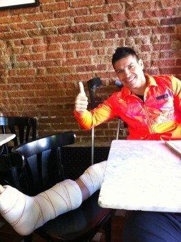Sergio Martinezs leg surgery a success; Granados Canas on 12/14