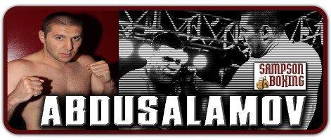 Abdusalamov vs. McCline on Saturday night on Klitschko Charr undercard