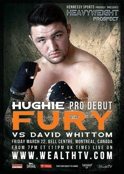 Hughie Fury weighs in for pro debut