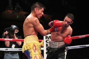 Delvin Rodriguez stops George Tahdooahnippah