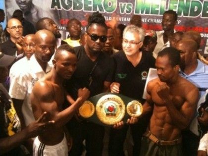 Agbeko and Mendelez weigh-in as Samini holds belt