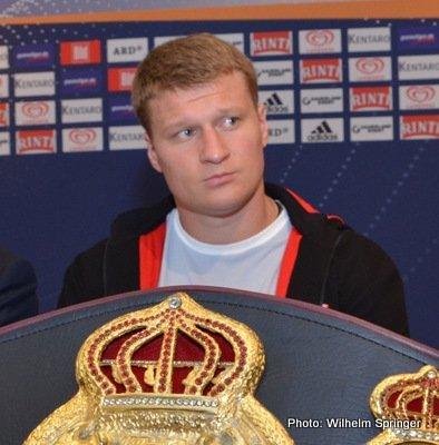 Alexander Povetkin: Kostya Tszyu doesn't want a new fighter!