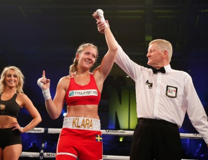 "Klara Svensson returns on November 16, fights ""almost"" at home"