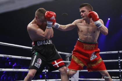 Skoglund retains European (EU) Light Heavyweight Title, Yigit defeats Bruun