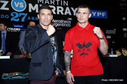 Sergio Martinez vs Martin Murray