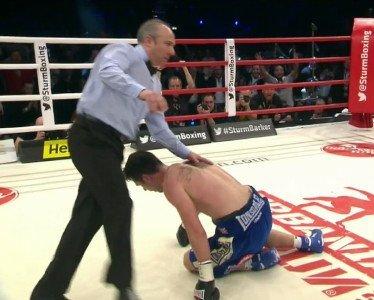 Sturm defeats Barker