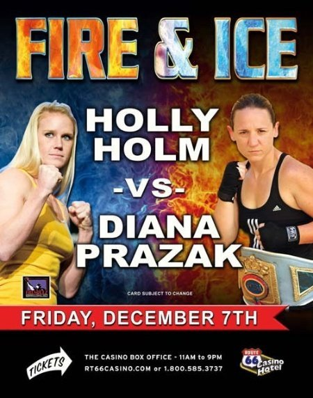 Holm vs Prazak For WBF World Title
