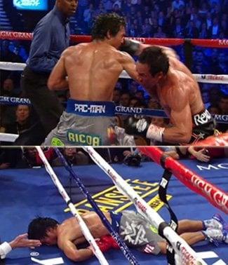 Juan Manuel Marquez scores shockingly surreal knockout against Manny Pacquiao!