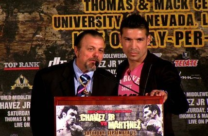 Sergio Martinez named WBC Fighter of the Month for September for win over Chavez Jr