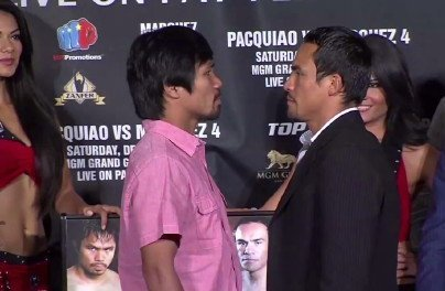 Few tickets left for Pacquiao Marquez 4 bout