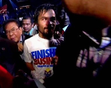 Pacquiao wont get Mayweather fight until he changes promoters, says Showtimes Espinoza