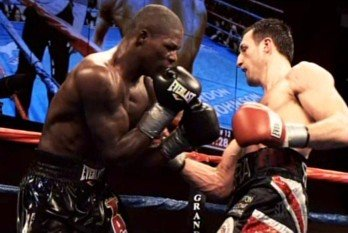 Jermain Taylor battles Sam Soliman on 10/4