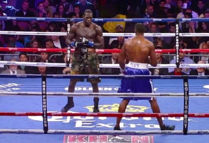 Wilder ready to put Audley out of his misery on April 27th